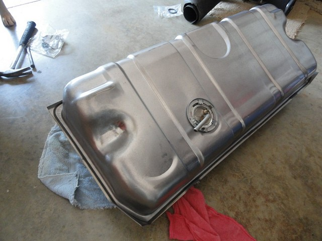 Gas Tank Replacement 1968 Corvette C3 Corvette Restoration