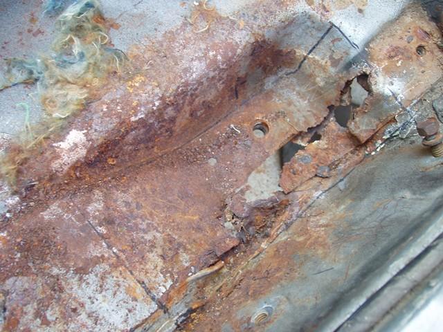 Floor Pan Rust